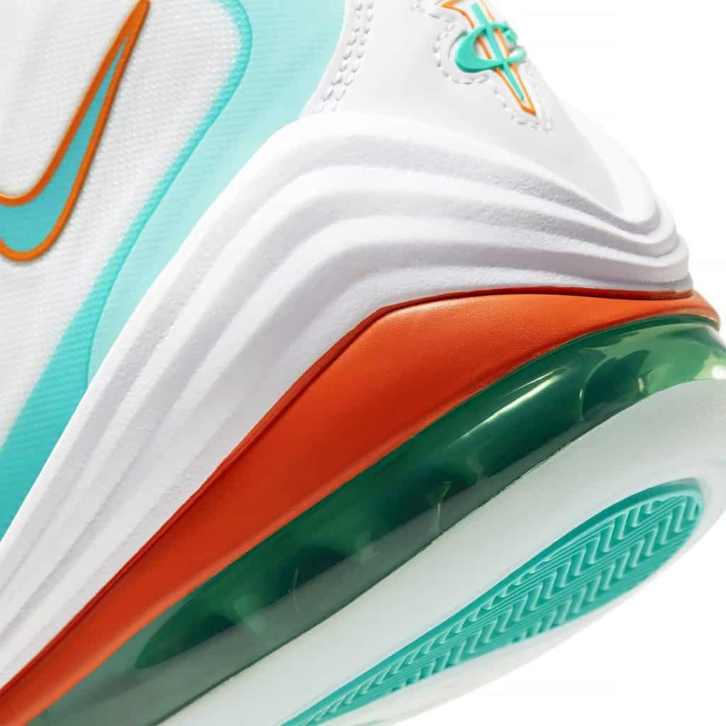 Air penny 5 miami dolphins image by Nike.com