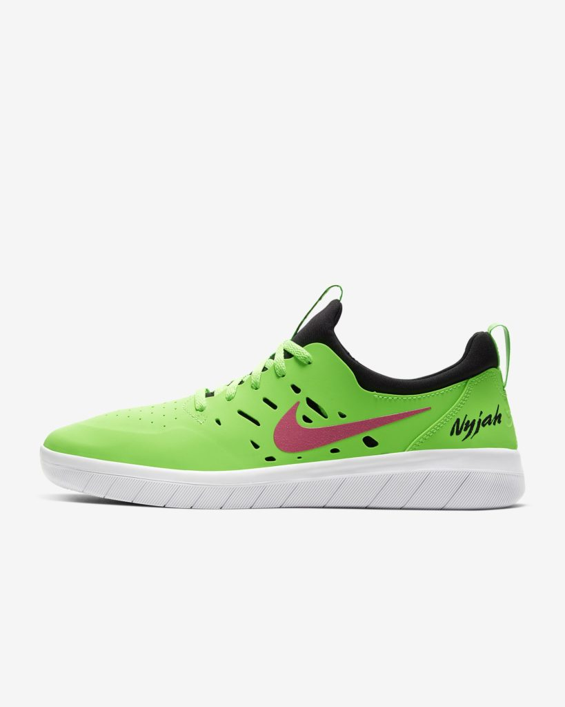 Nike Sb Nyjah Free Green