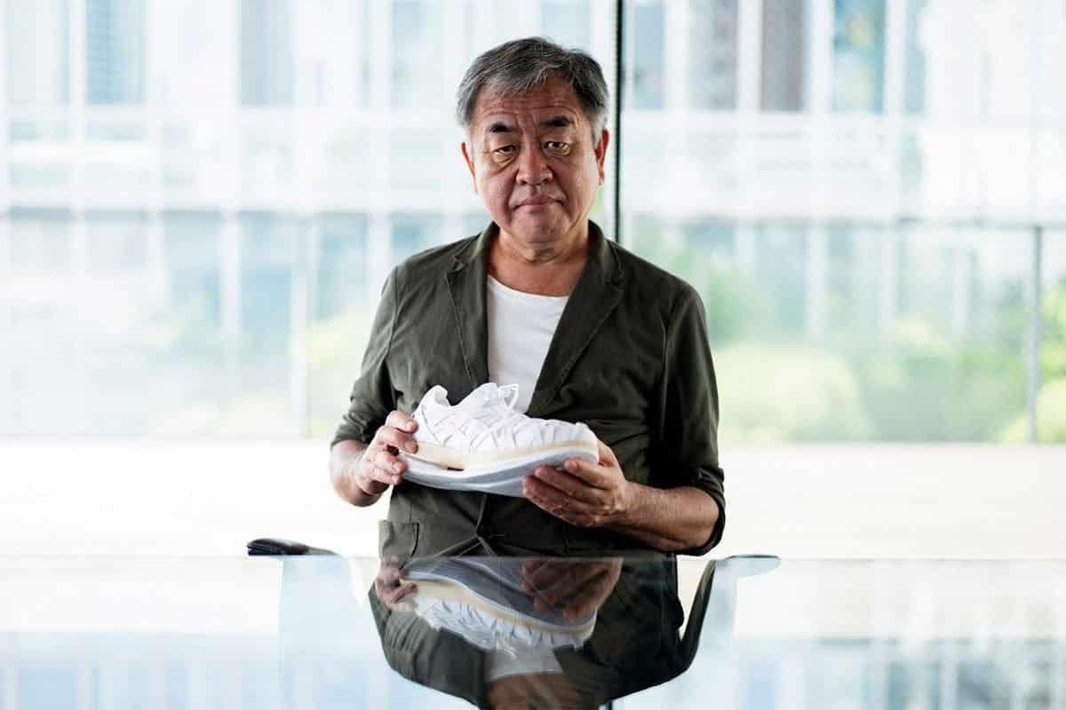 Asics teams up with Architect Kengo Kuma to design the Woven MetaRide AMU