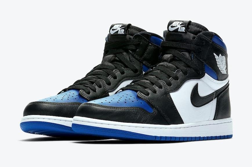 """Air Jordan 1 High OG """"Black Game Royal"""""""