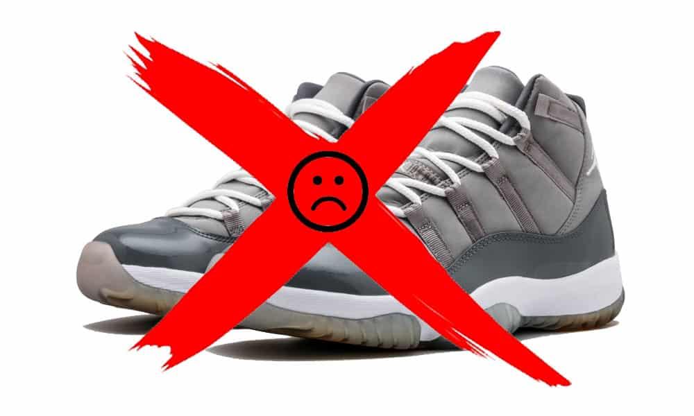 Jordan 11 Cool Grey No Release