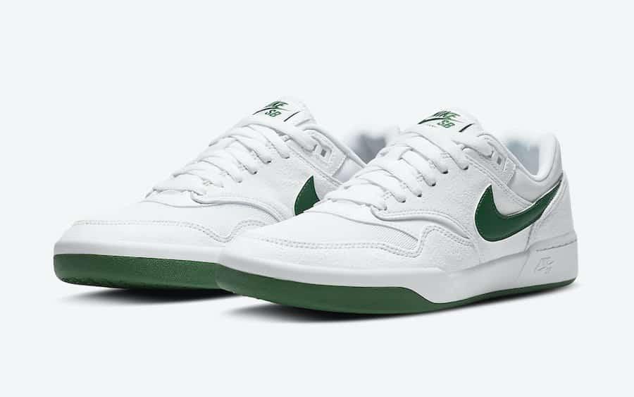 Nike SB GTS White Green Front