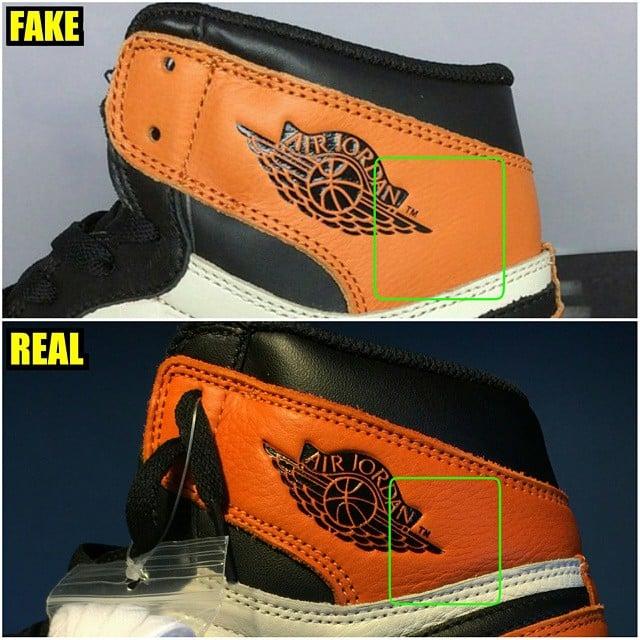 Fake Jordan 1 Logo SoleCollector