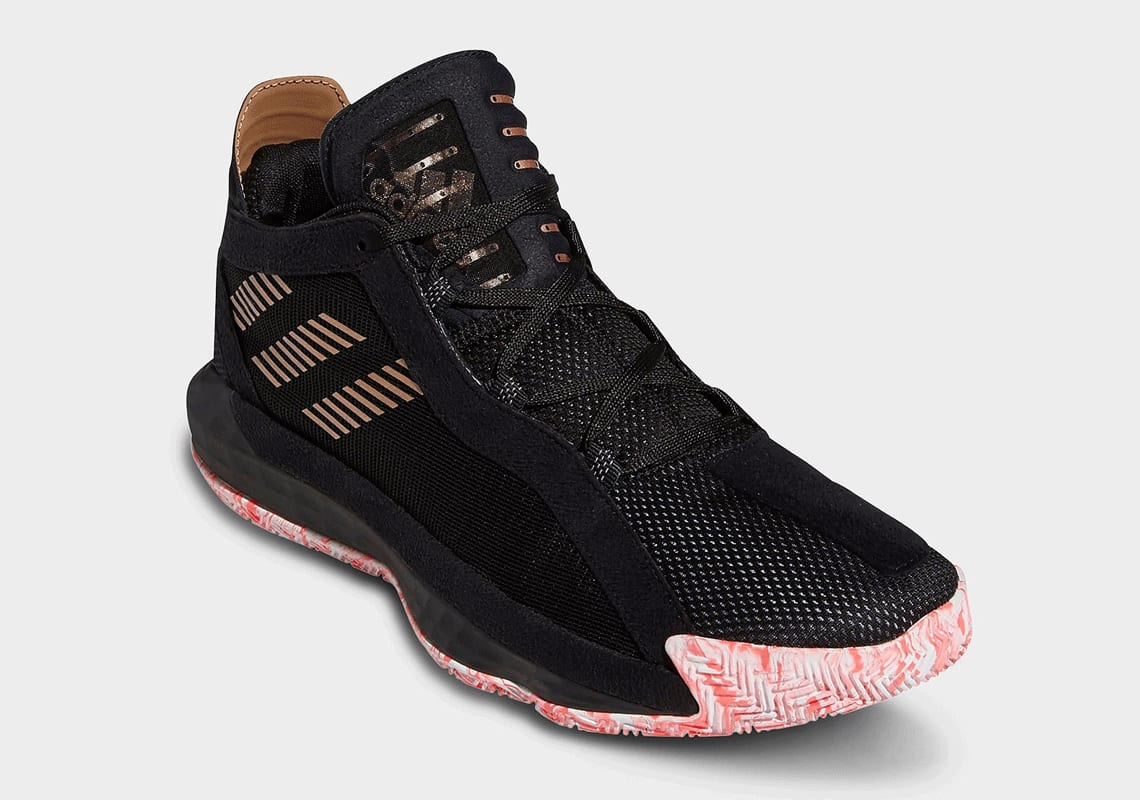 Adidas Dame 6 front