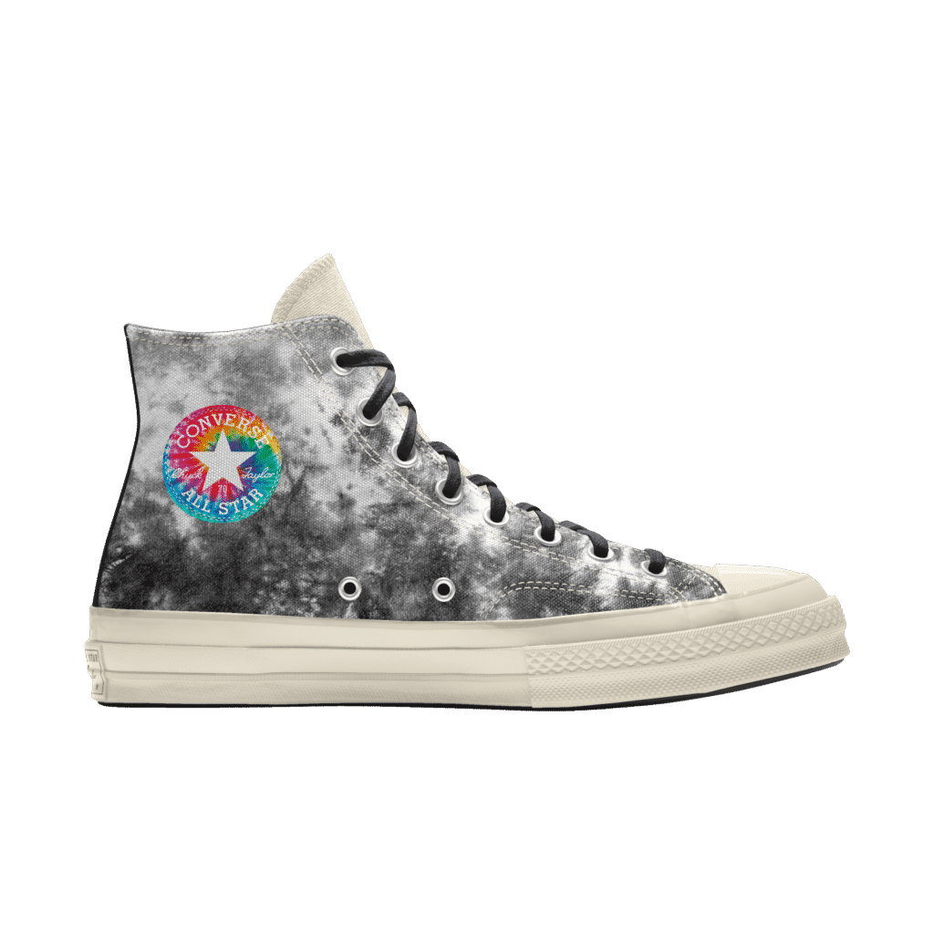 Millie Bobby Brown Converse Black and White