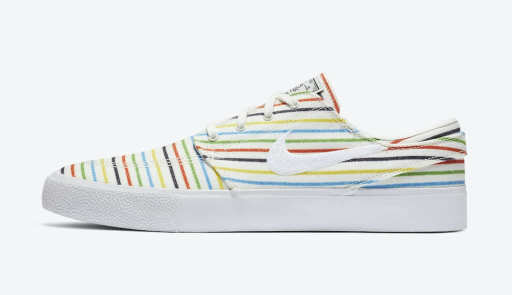 Nike SB Stefan Janoski Colorful Stripes Side