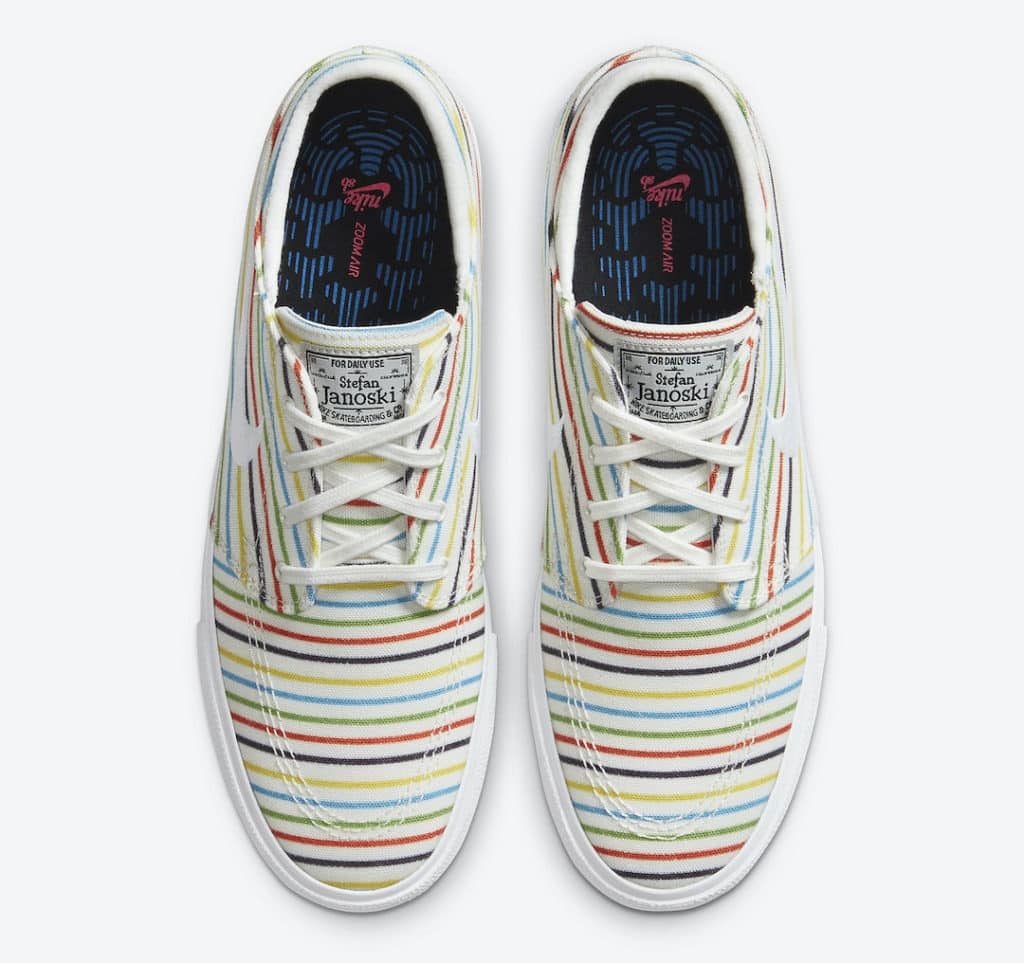 Nike SB Stefan Janoski Colorful Stripes Top