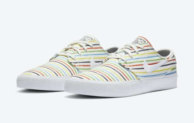 Nike SB Stefan Janoski Colorful Stripes