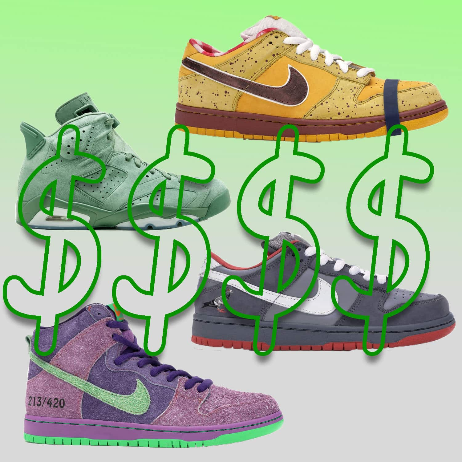 20 MOST EXPENSIVE RESELL SNEAKERS 2020
