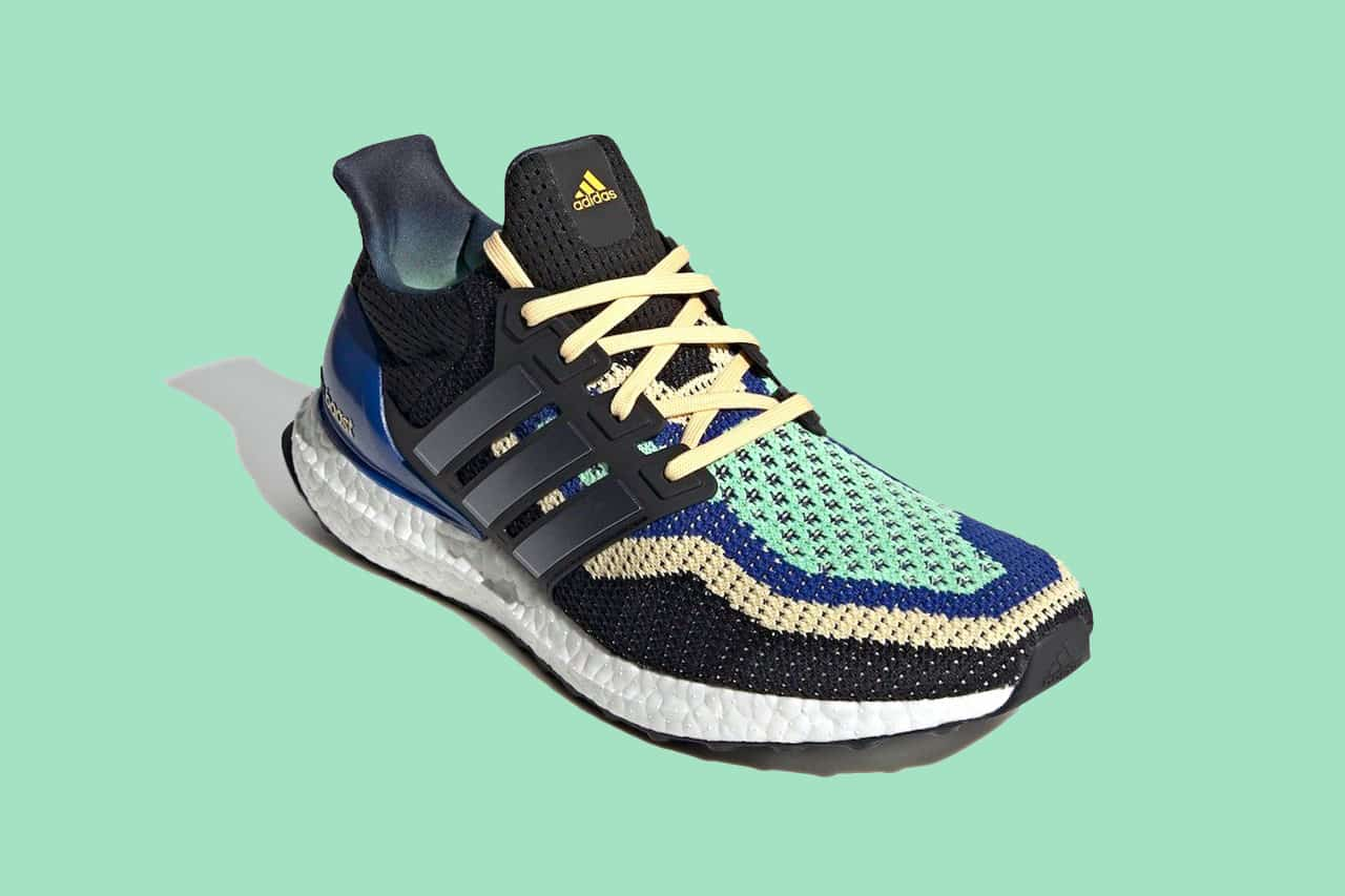 "Adidas Ultraboost DNA in ""Core Black"" and ""Glory Mint"""