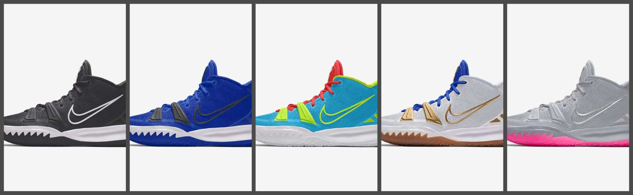 """Kyrie 7 """"by you"""" collage"""