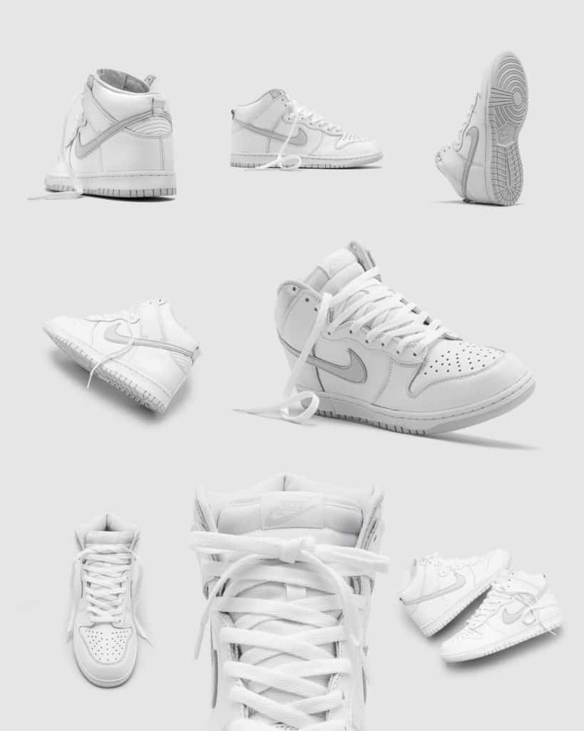 Nike sb dunk high pure platinum overview