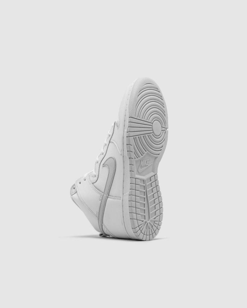 Nike sb high pure platinum sole