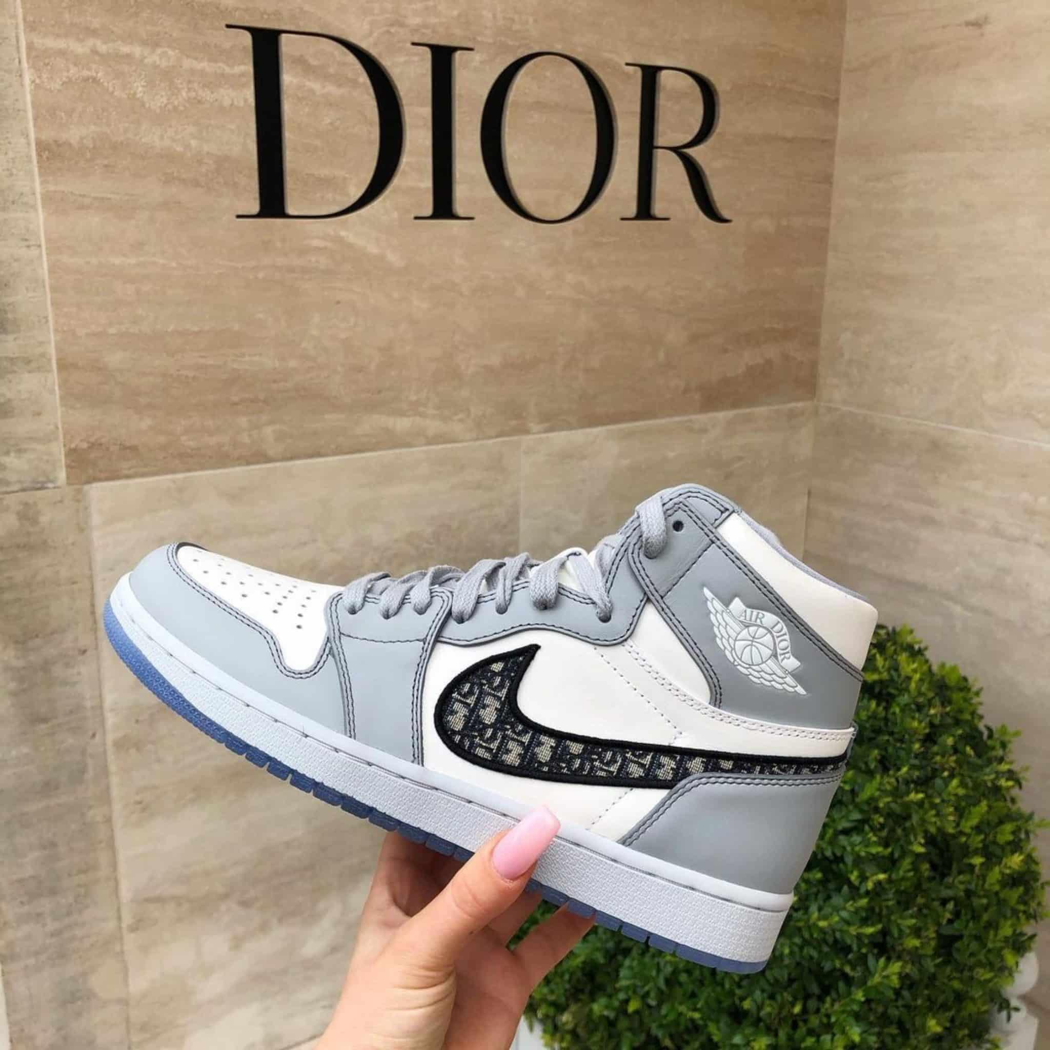 "Nike air jordan 1 high ""Dior"""