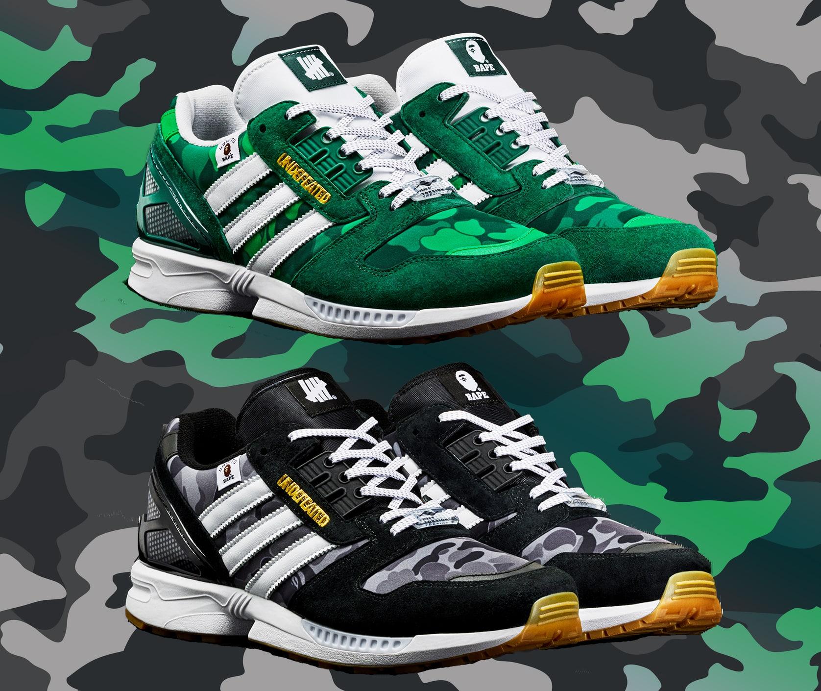 adidas zx8000 bape x undefeated x adidas collab