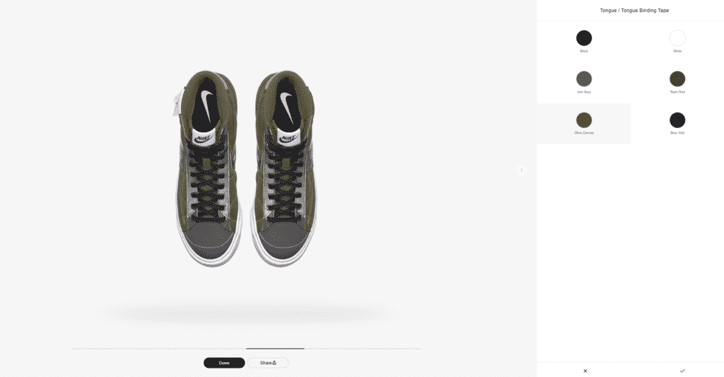 Nike Adds Recycled Panels to the New Customizable Blazer Mid Vintage '77 3M™ By You