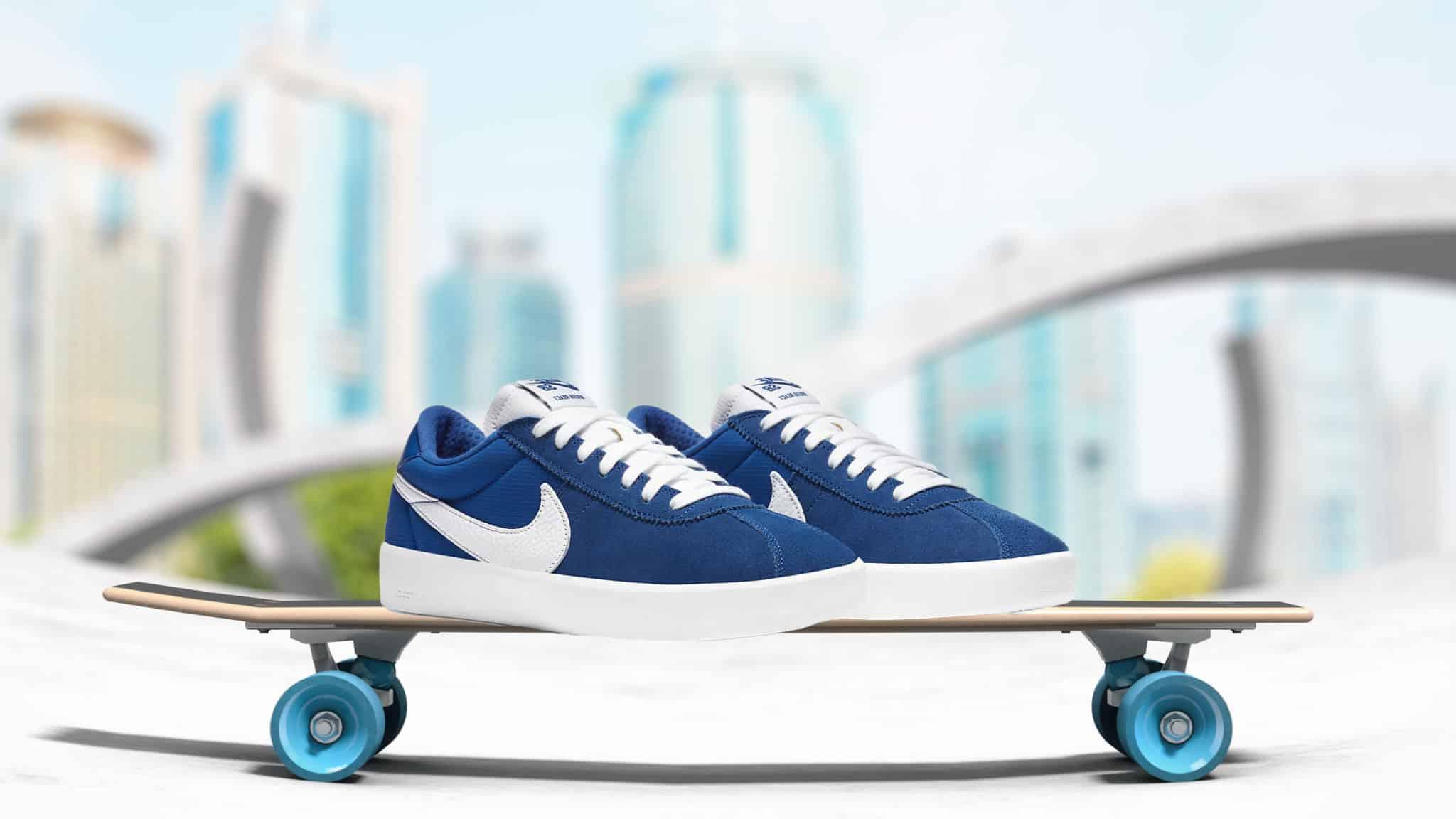 Nike Sb Bruin React Skate Shoe Team Royal
