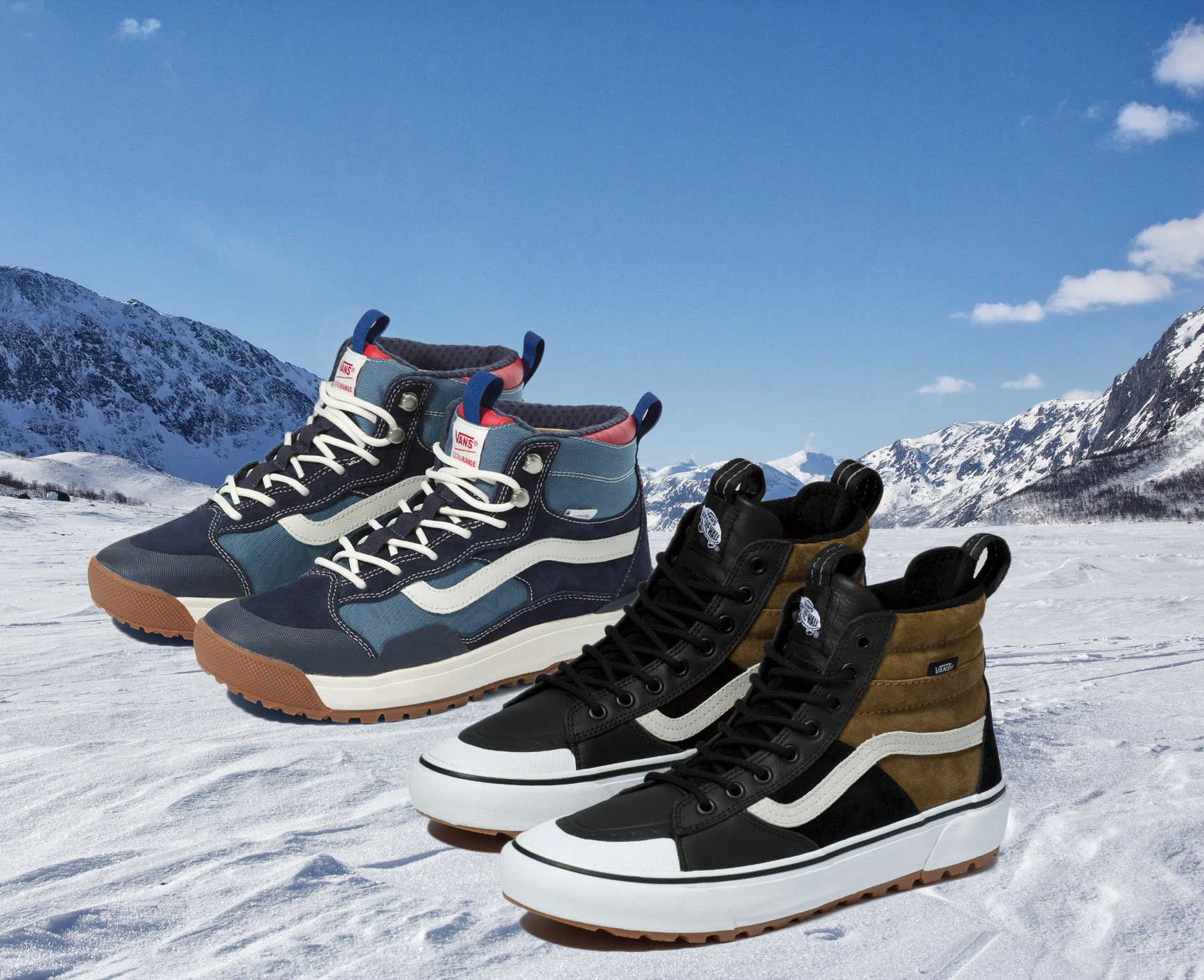 Introducing Two of Vans' Latest All-Weather MTE Collection Models