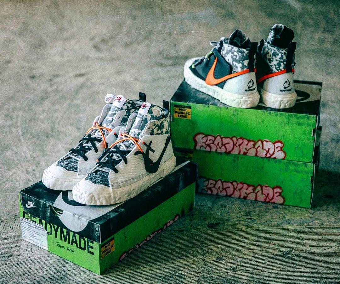 Readymade Instagram Nike Blazer Mid