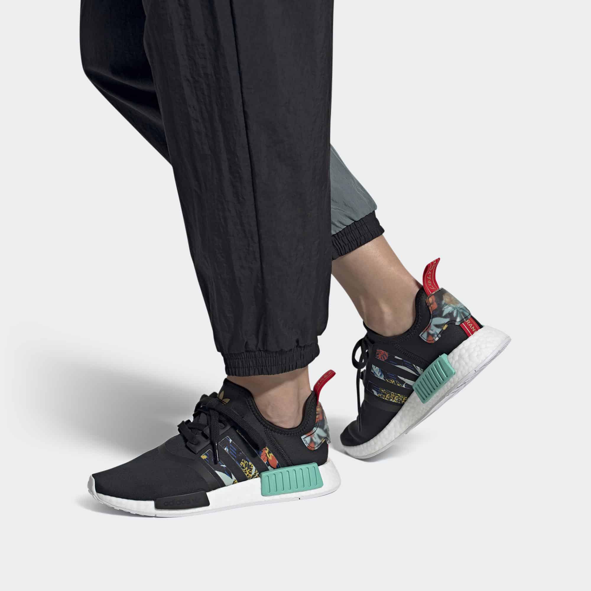 Womens Adidas NMD R1 HER Studios On Feet