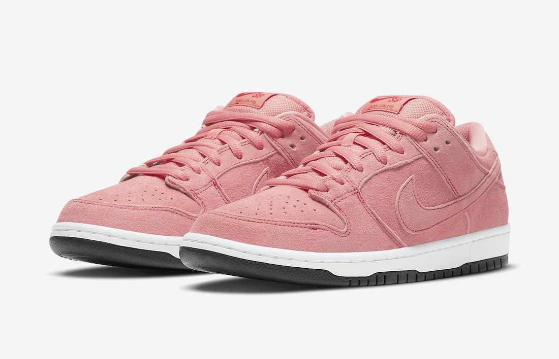 Nike SB Dunk Low Pink Pig Skate Shoe