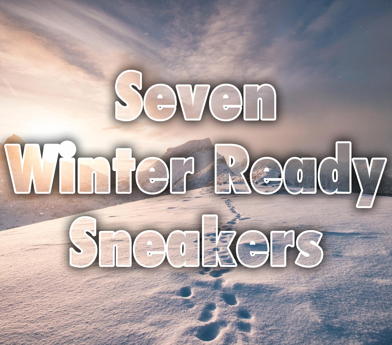 Seven Winter Ready Sneakers