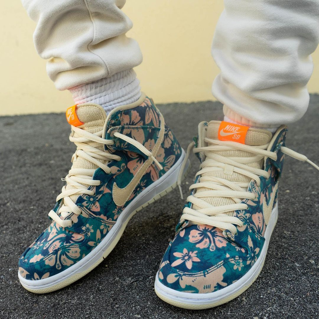 Nike SB Dunk High Hawaii @yankeekicks