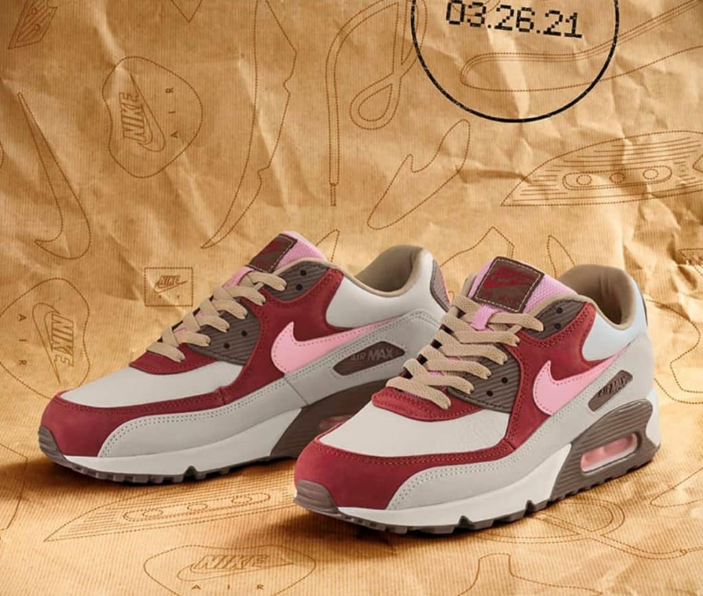 "Nike Air Max 90 ""Bacon"" Looking Crispy in 2021"